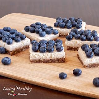 Blueberry Coconut Cream Pie Squares (Paleo, Dairy, Gluten, Refined Sugar Free)