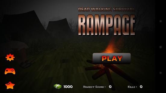 Dead Walking Survival Rampage - náhled