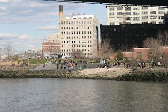 Photo: In the Brooklyn Bridge Park, under the Manhattan Bridge.