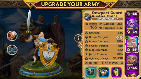 Mod Game Warlords of Aternum for Android