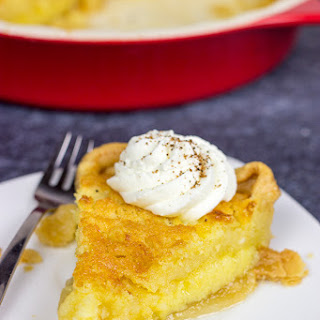 Southern Buttermilk Chess Pie.
