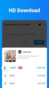 Downloader for Twitter – Download Tweet Video, GIF 1.0.9 APK with Mod + Data 3