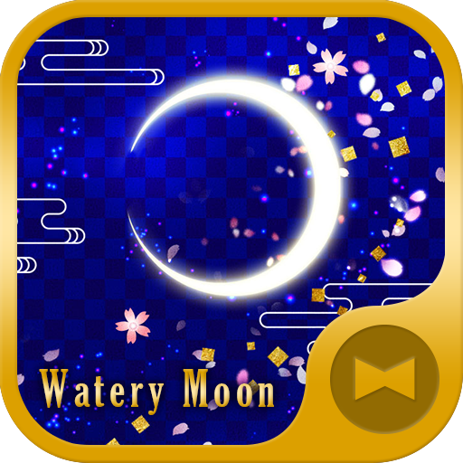 Watery Moon Wallpaper Icon