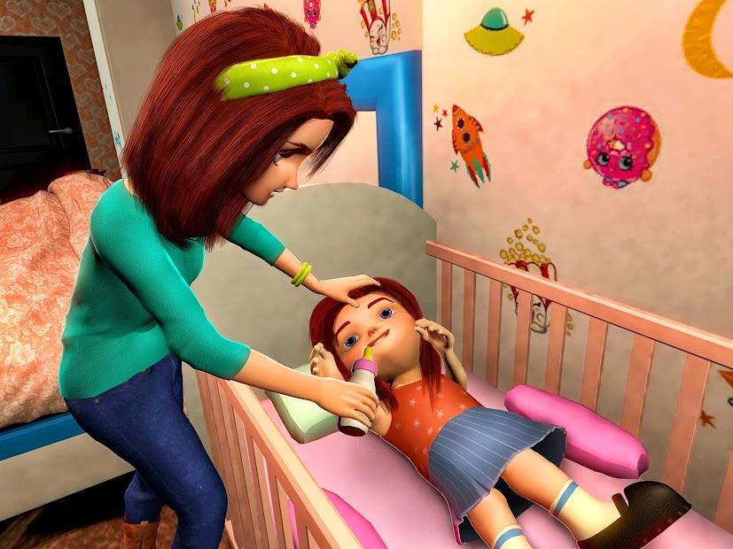 Virtual Mother Game: Family Mom Simulator screenshot 5