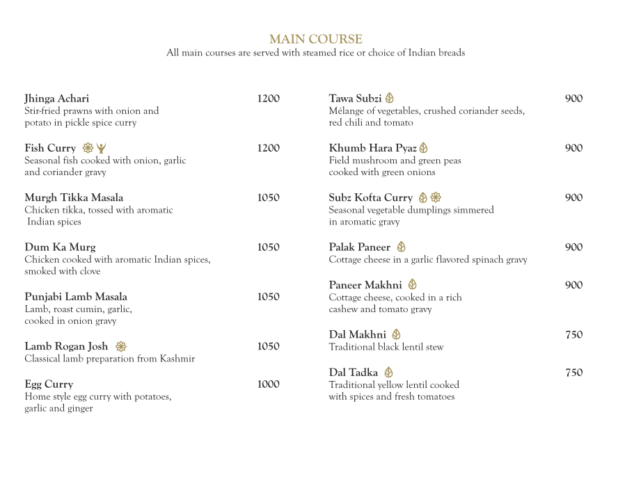 The Market - The Ritz-Carlton menu 5