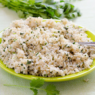 Cilantro Coconut Brown Rice