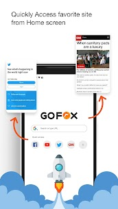 GoFox – Incognito Browser And Private Web Browser App Download For Android 3