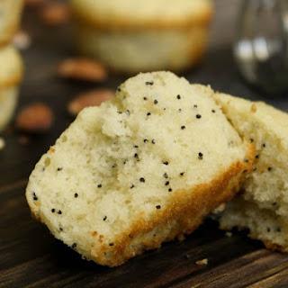 Gluten Free Almond Poppyseed Muffins