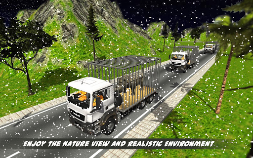 Tiger Transport Simulator Wild 3D screenshots 2