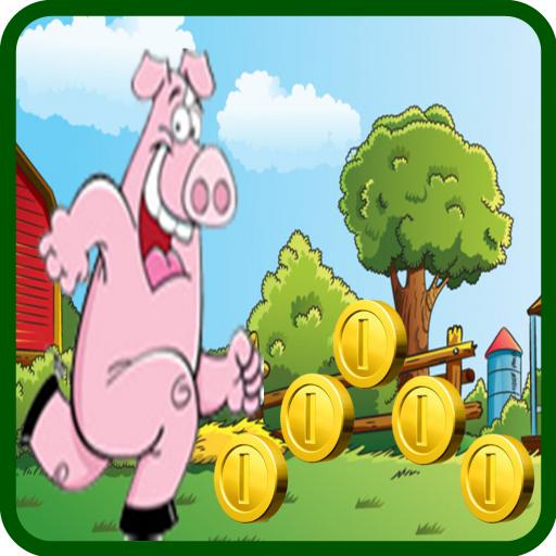 Running noel pig Peppa