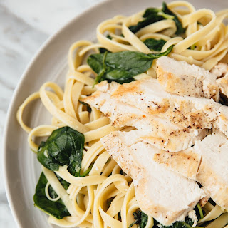 Ginger Chicken and Pasta.