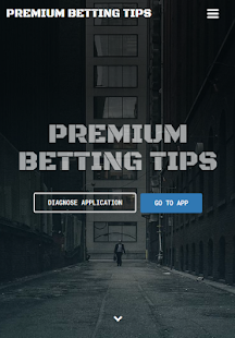 Premium Betting Tips - náhled