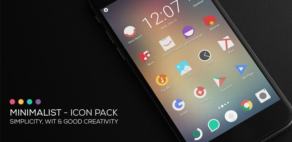 Minimalist - Icon Pack 2 2 Apk Download - com jndapp
