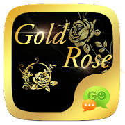 (FREE) GO SMS GOLD ROSE THEME 3.3.1 Icon