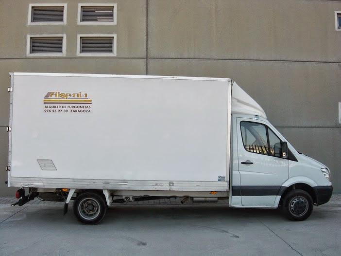 Venta de furgonetas usadas en Zaragoza