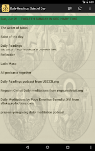 Laudate - #1 Free Catholic App- screenshot thumbnail