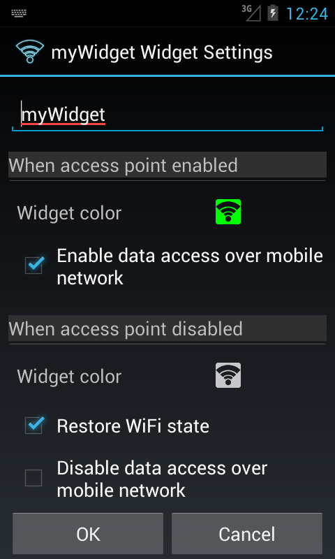 WiFi Access Point (hotspot)- screenshot