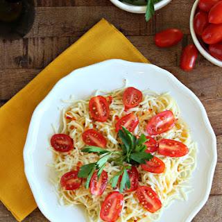 {5-ingredient} Italian Caprese Pasta
