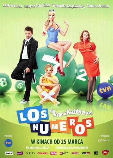 Przód ulotki filmu 'Los Numeros'