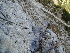 Photo: Piscadu-Klettersteig 2004