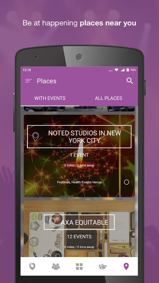 Nearify - Discover Events- screenshot