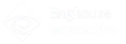 Enghouse Interactive White Logo