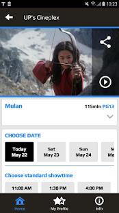 UP's Cineplex for PC-Windows 7,8,10 and Mac apk screenshot 3