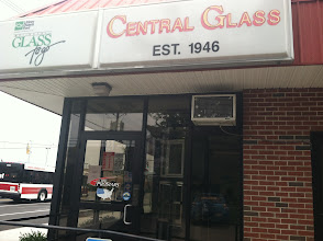 Photo: Central Glass in Brockton, MA proudly displaying their BBB Accreditation