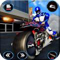 US Police Spider Robot: Moto Hero Gangster Chase