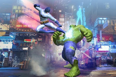 Superhero Legends War : Fighting Injustice Game APK screenshot thumbnail 1