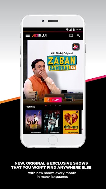 ALTBalaji Download This App from apklook com | Google Play Store