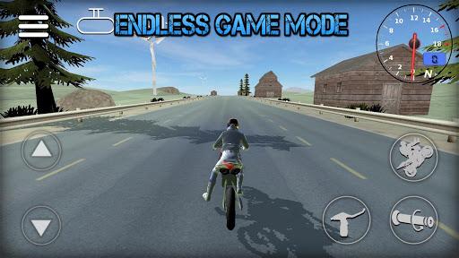 Wheelie Rider 3D - Traffic rider wheelies rider 1.0 screenshots 2