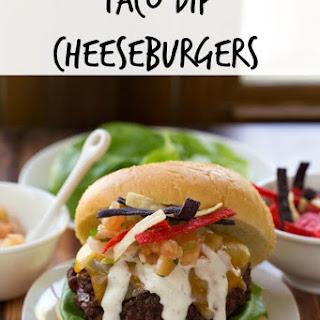 Taco Dip Cheeseburgers