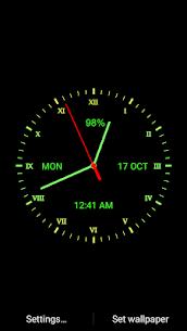 Analog Clock Live Wallpaper 111.4.17 Android Mod APK 3