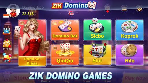 Domino QQ/99 Poker QiuQiu KiuKiu Sibo Slot Hilo 1.7.9 screenshots 1