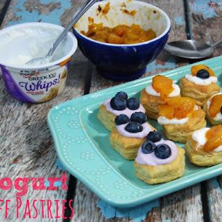 Yogurt Puff Pastries Recipe
