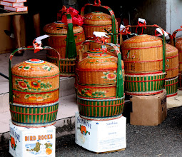 Photo: Year 2 Day 132 - Tiffin Boxes Outside a Chinese Bakery