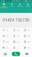 Screenshot of 0800NO say no to 0870/45