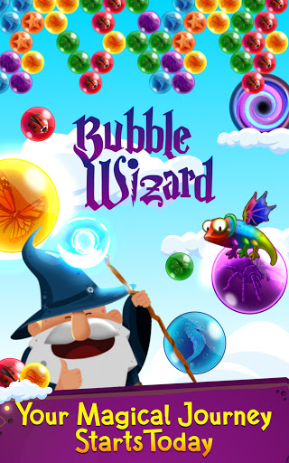 Bubble Shooter: Bubble Wizard, match 3 bubble game apkmr screenshots 4