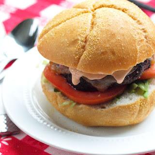 Portobello Mushroom Burger with Chipotle Mayo