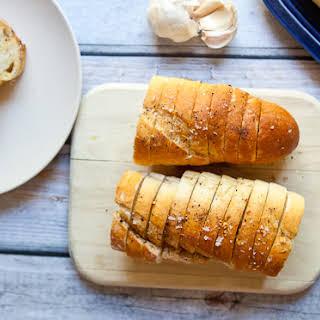 Hasselback Garlic Bread.