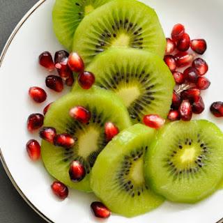 Kiwi Pomegranate Pavlovas.