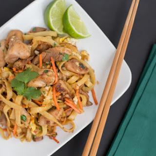 Gluten-Free, Grain-Free Chicken Pad Thai