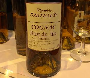 Cognac Grateaud brut de fût