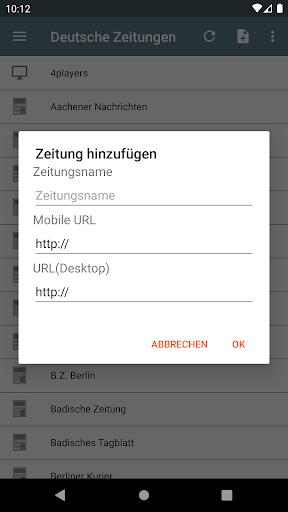 Deutsche Zeitungen 2.2.3.5.6 screenshots 1