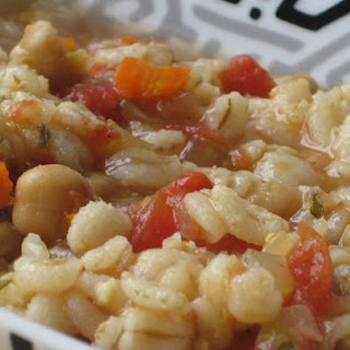 Beaker'S Vegetable Barley Soup Recipe
