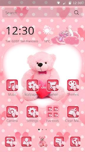 粉紅色的泰迪愛主題