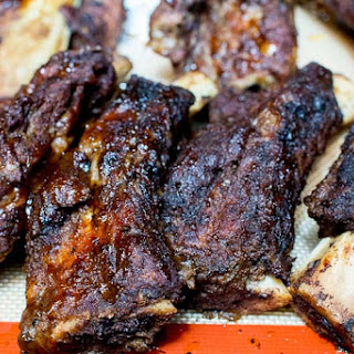 Slow Cooker Texas BBQ Ribs.