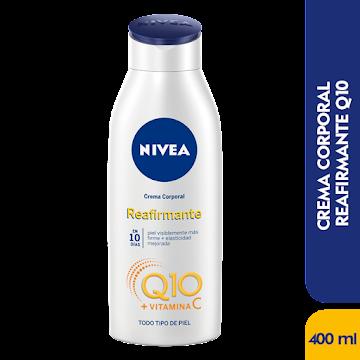 CREMA NIVEA CORPORAL   REAFIRMANTE Q10 CREATINA X400ML