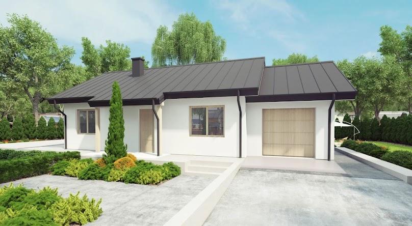 Projekt domu UA75